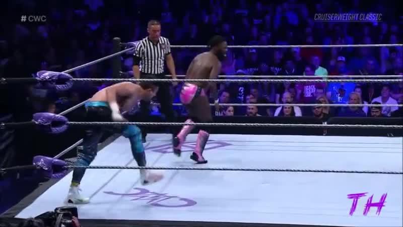 Rich Swann vs TJ Perkins Highlights HQ Cruiserweight Classic 07 09 2016