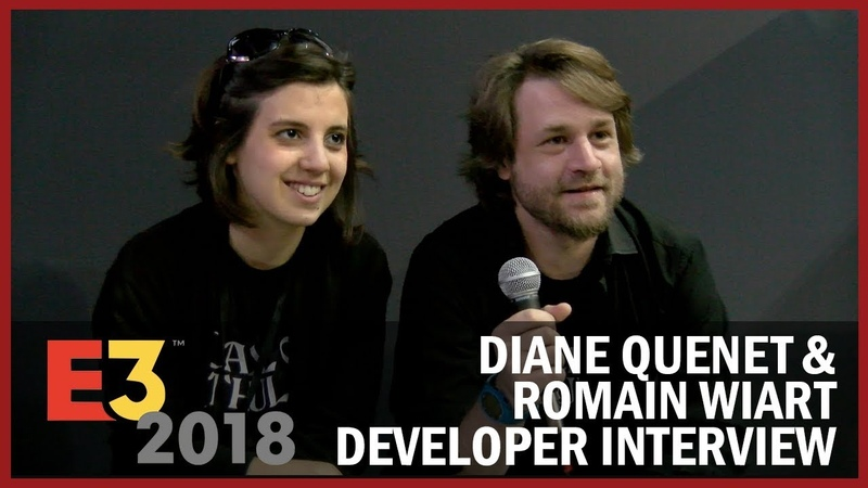 Diane Quenet Romain Wiart from Cyanide Studio Explain How Call of Cthulhu Rewards- USC at E3 2018