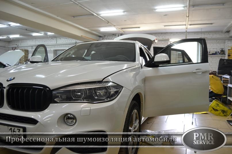 Шумоизоляция BMW X6 M, изображение №25