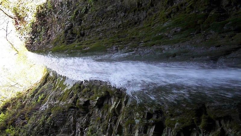 Водопад Слёзы Лауры 2018 год