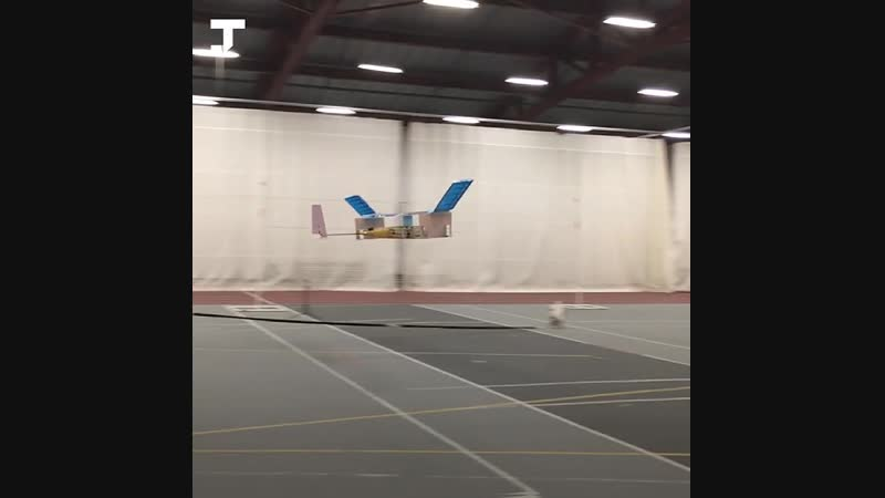 В MIT создали самолёт летающий без движущихся частей d mit cjplfkb cfvjk`n tp ldb eob cz xfcntq