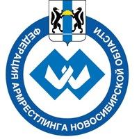 Логотип АРМРЕСТЛИНГ - НСК