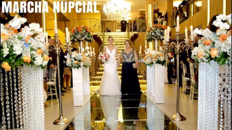 Entrada da Noiva Marcha Nupcial Original | Casamento Buffet East Side | Coral Orquestra Cerimonial