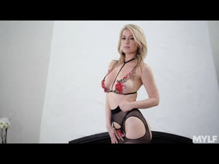 Kit Mercer (Lush Lips And Perfect MILF Hips) Full HD 1080, All Sex, Milf, Blonde, Blowjob