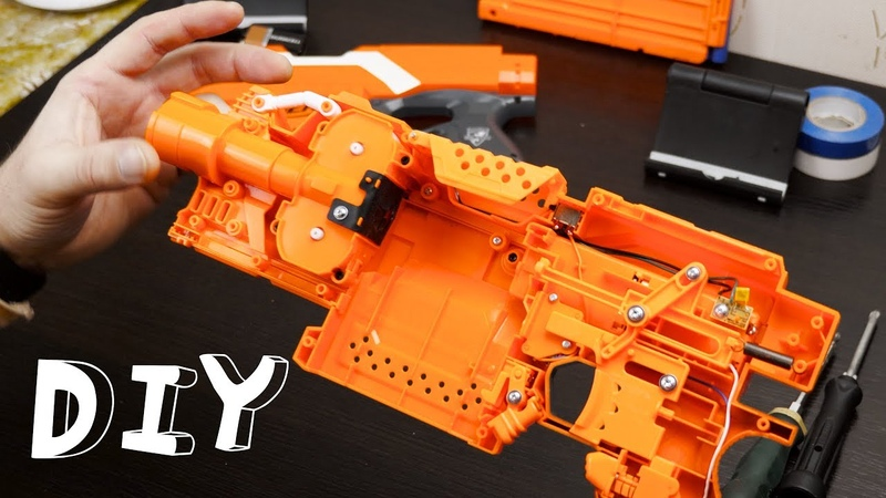 DIY Nerf blaster elite Stryfe custome