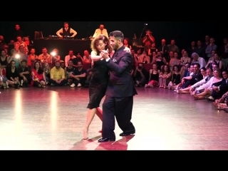 Juana Seplveda y Christian Marquez (Los Totis), 30-4-2017, Brussels TF, Mixed couples 4-5