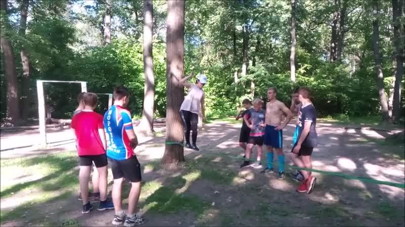 Тренировки лето 2019