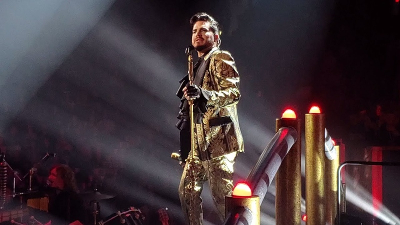 Queen Adam Lambert - The Show Must Go On (Opera Box) (The Rhapsody Tour, Vancouver, Opening Night)