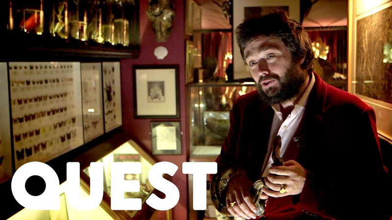 Meet Viktor Wynd and His Museum of Curiosities | British Treasure, American Gold
