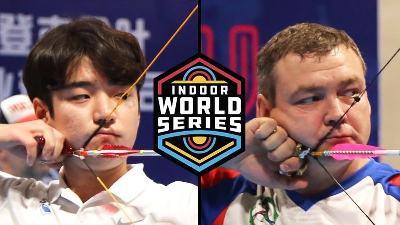 Iurii Demakov v Kim Taeyoon compound men's bronze Macau Open 2018