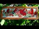 Алмазная вышивка Розы Оформление алмазной картины Diamond embroidery Roses