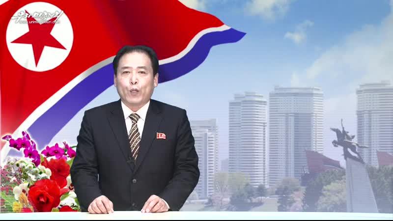 경애하는 최고령도자 김정은동지를 조선민주주의인민공화국 국무위원회 위원장으로 높이 추대