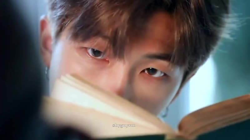 A compilation of namjoon reading books bc yes