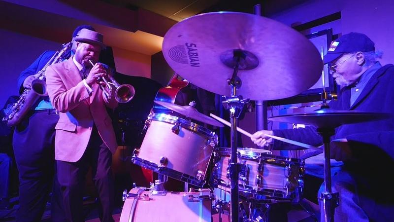 Russell Gunn w Jimmy Cobb - So What @ Velvet Note, Alpharetta, GA - Sat Nov/21/2015