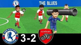 Chelsea vs Arsenal 3-2 | Parody Goals | highlights | 18/08/2018