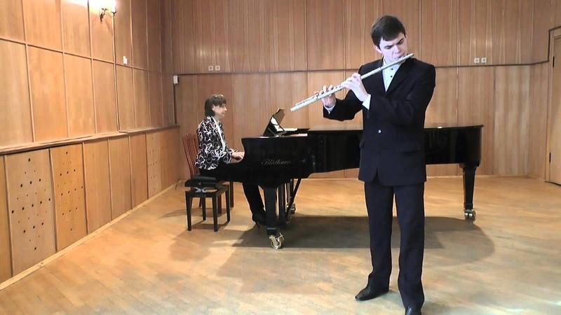 Николай Донской. Флейта. Вивальди - концерт До минор (2,3 части)