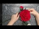 Упаковка для пересылки или перевозки цветов из полимерной глины