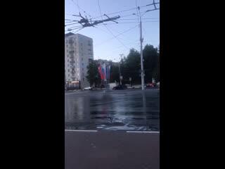 Дрифт на площади Свободы  Регион-52