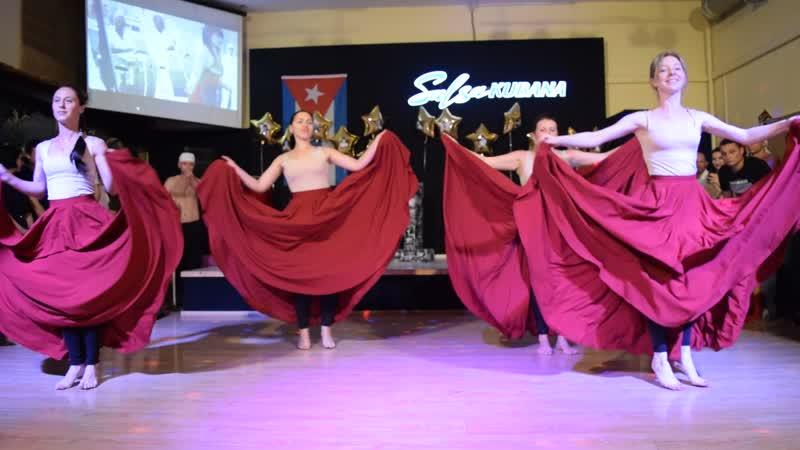 Шоу Пало. Выступление ArmenyCasa Анапа на 15 летие Сальса Кубана г. Краснодар