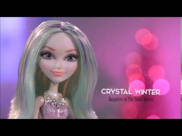 Crystal Winter Playset Winter Sparklizer Ever After High Adelanto de la Cancion