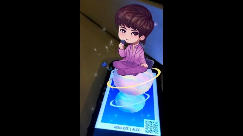 Проект Find Little Prince (AR приложение к ДР Ханбина 2019)
