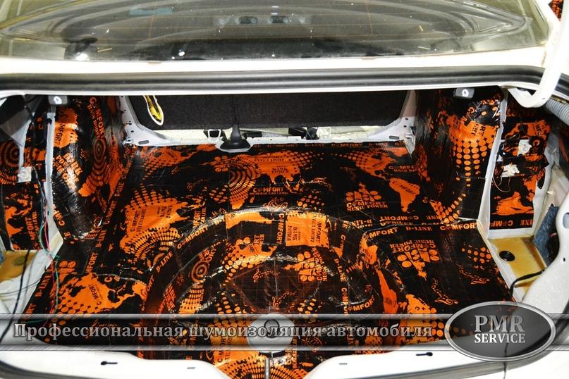 Комплексная шумоизоляция Volkswagen Jetta, изображение №8