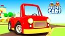 Cartoon für Kinder - Die Helfer Autos - Die neue Strecke