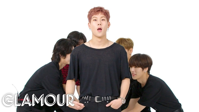 Monsta X Takes a Friendship Test | Glamour