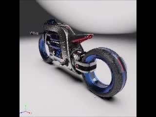 Dyson concept motorcycle 3d surface modelling technique using alias