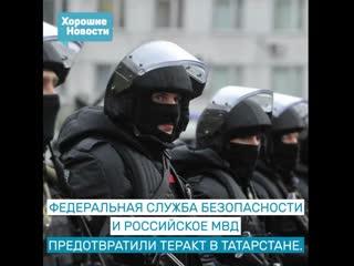 ФСБ и МВД предотвратили теракт в республике Татарстан