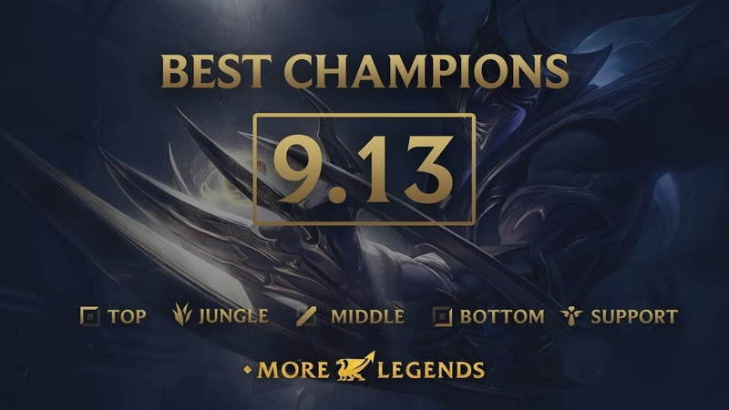 Best Champions in Patch 9.13 - League of Legends
