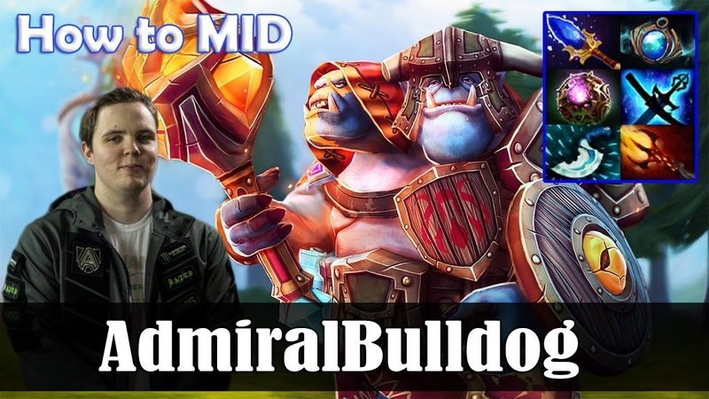AdmiralBulldog Ogre Magi How to MID Dota 2 Pro MMR Gameplay