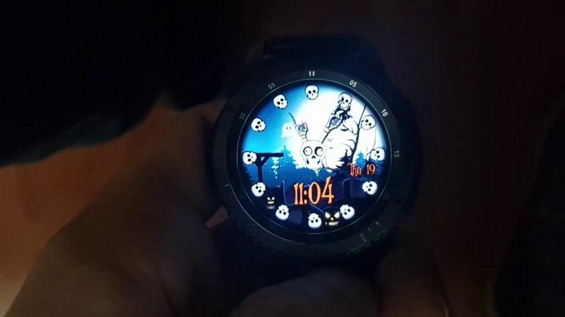 Halloween Animated WW36 Watchface for Samsung Gear Samsung Galaxy watch