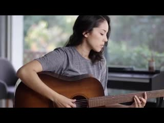 Kina Grannis спела кавер песни Britney Spears - Oops.I Did It Again
