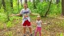 Прятки в лесу и песенка для детей Семейка Пальчиков Где же ты Учим английский с alicefunshow