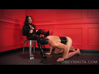 Mistress Nikita: Shine My Rubber Boots, Bitch