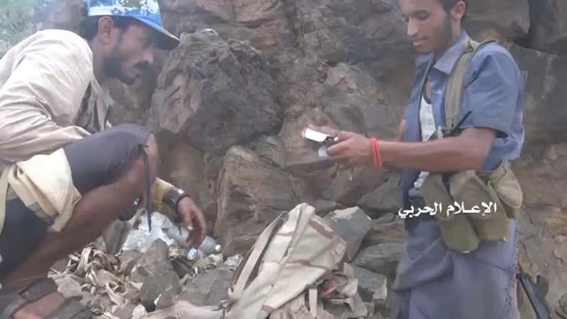Хуситы отразили атаку хадистов в районе горы Аль Нар провинция Хаджа