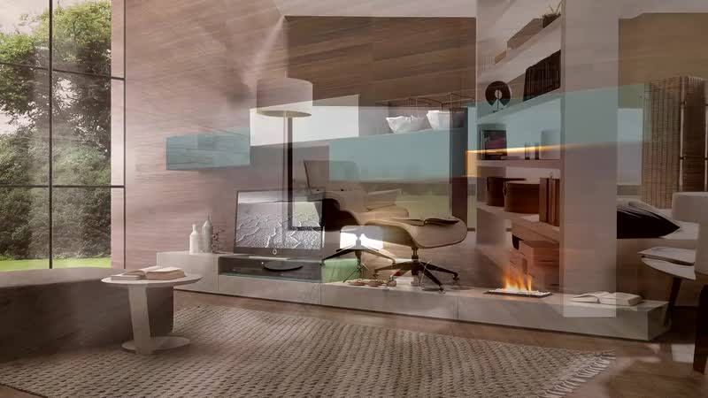 💗 Ламинат в интерьере - ламинат на стене в спальне, в прихожей, кухне, на балконе. Светлый и черный (1).mp4