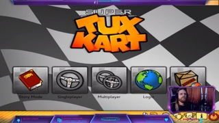 Super Tux Kart the fun and free open source kart racer