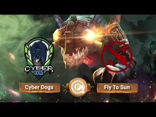 Cyber Dogs vs Fly To Sun