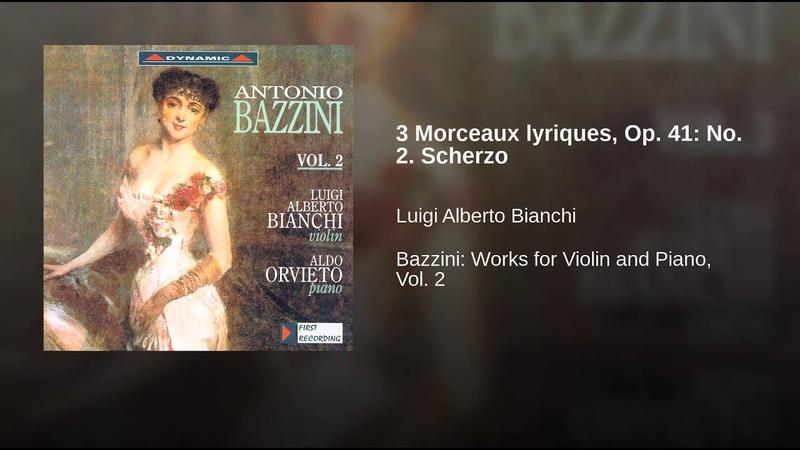 3 Morceaux lyriques, Op. 41: No. 2. Scherzo