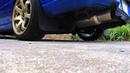 2006 Subaru WRX Blitz Nur Spec R Catback Exhaust