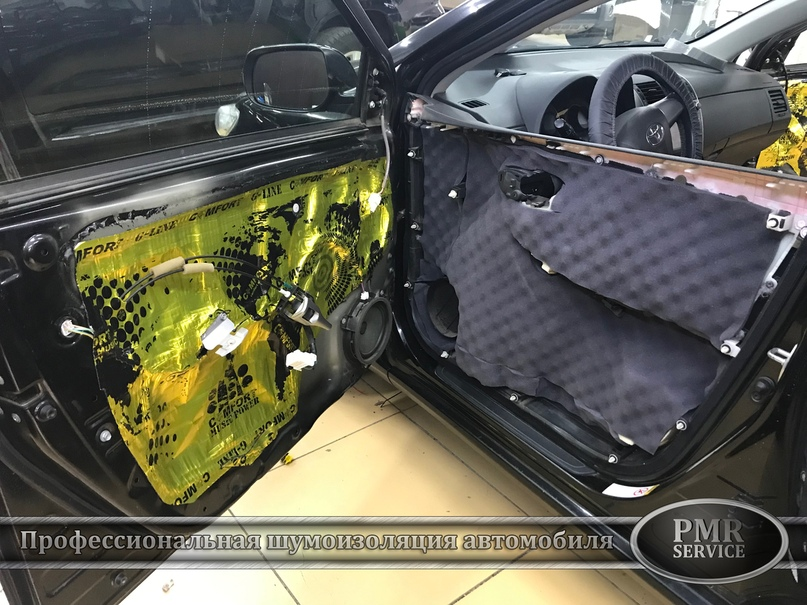 Шумоизоляция Toyota Corolla, изображение №10
