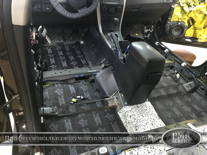 Шумоизоляция Toyota Corolla, изображение №14