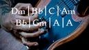Slow Straight Hard Rock Guitar Backing Track D Minor Jam