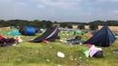 Festival Crowd Leave Filthy Field Behind ViralHog