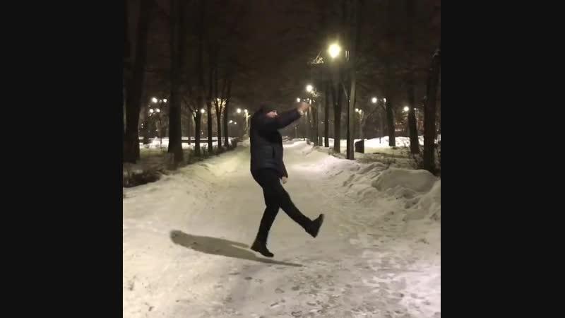"Max on Instagram_ ""Танцуйте друзья, движение жизнь_) dancing newyear2019 wint"