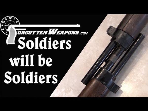 The French Finger Trap: MAS-36 Bayonet Shenanigans