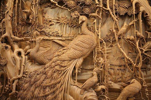 Китайская школа резьбы по дереву, изображение №5