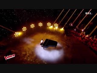 Feel - Robbie Williams - Vincent Vinel - The Voice France 2017 роби вильямс, робин вильямс, голос - Live